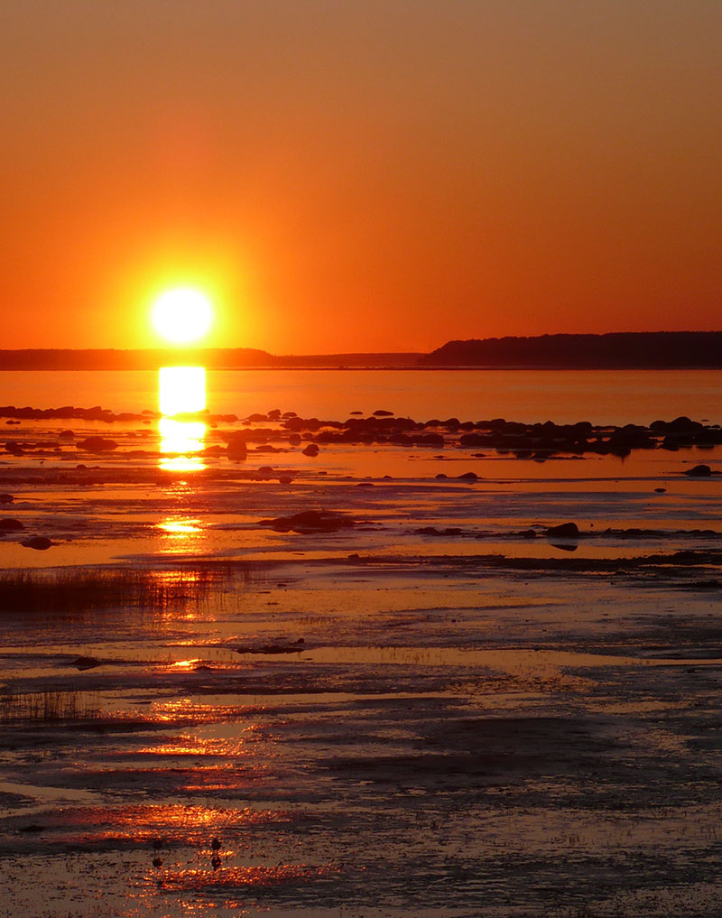 photo-fleuve-saint-laurent-coucher-de-soleil-saint-antoine-de-tilly